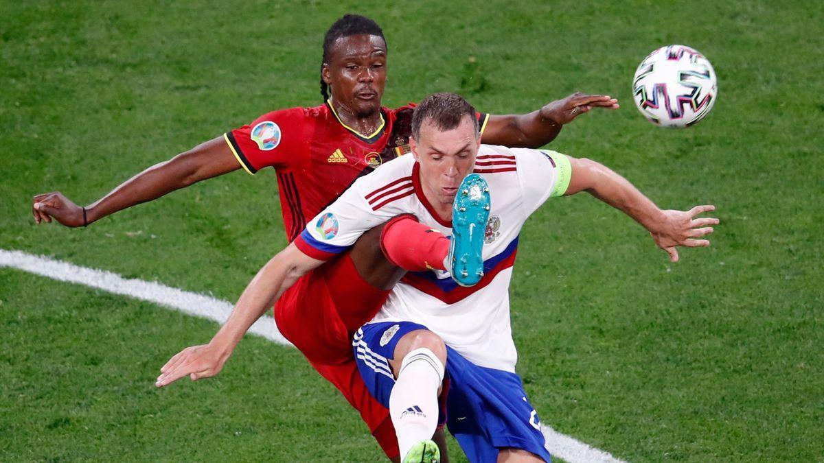 Сборная России проиграла Бельгии на Евро-2020 и установила антирекорд чемпионатов Европы среди стран-хозяек - Eurosport